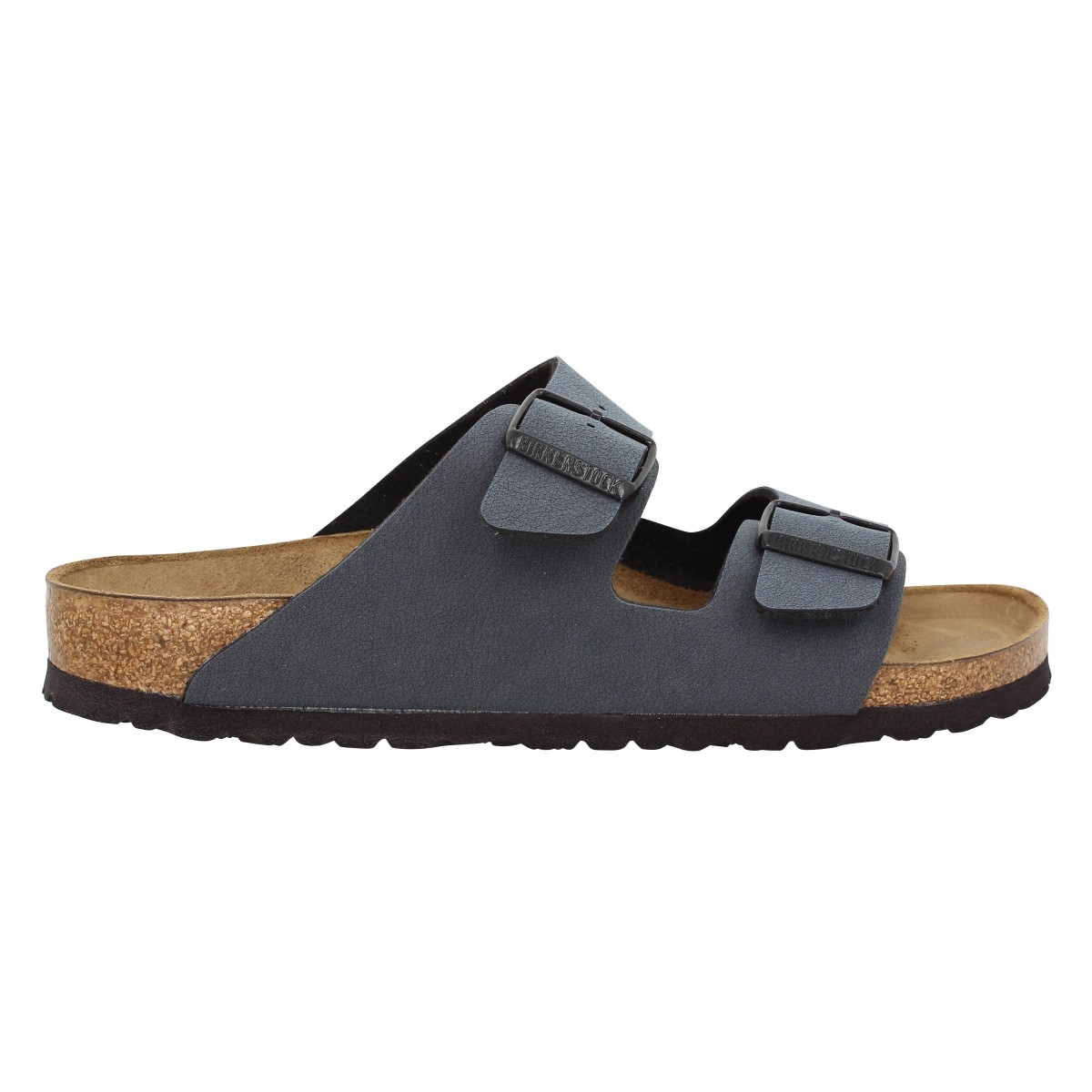 birkenstock arizona birko flor nubuck basalt homme fanny chaussures. Black Bedroom Furniture Sets. Home Design Ideas