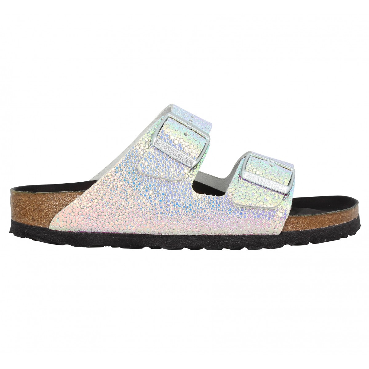 soldes birkenstock arizona cuir femme silver black femme fanny chaussures. Black Bedroom Furniture Sets. Home Design Ideas