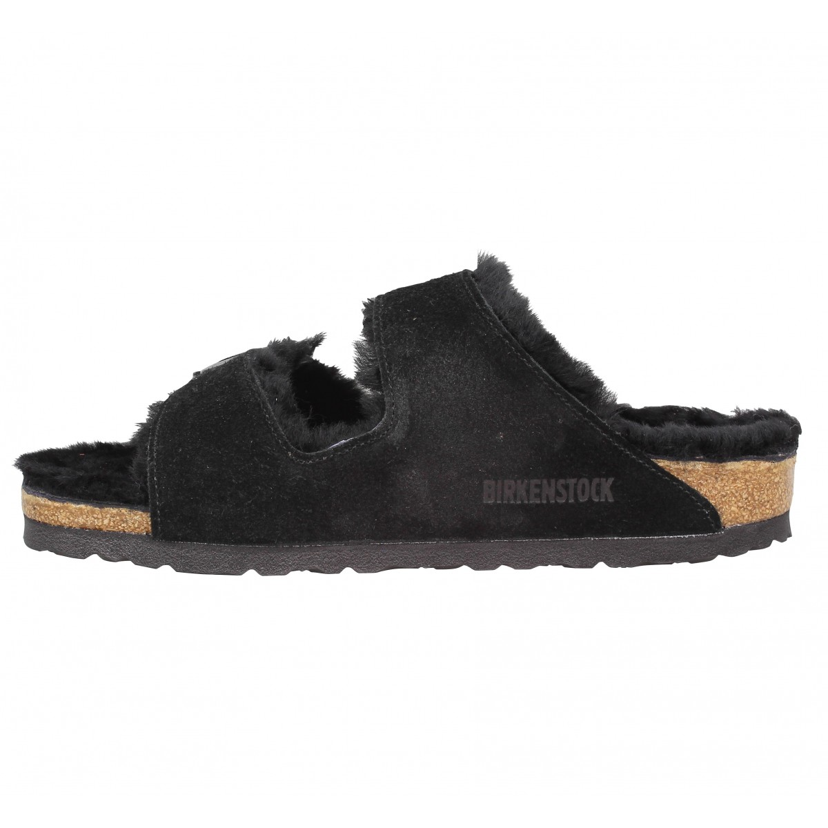 soldes birkenstock arizona fur velours femme noir femme fanny chaussures. Black Bedroom Furniture Sets. Home Design Ideas