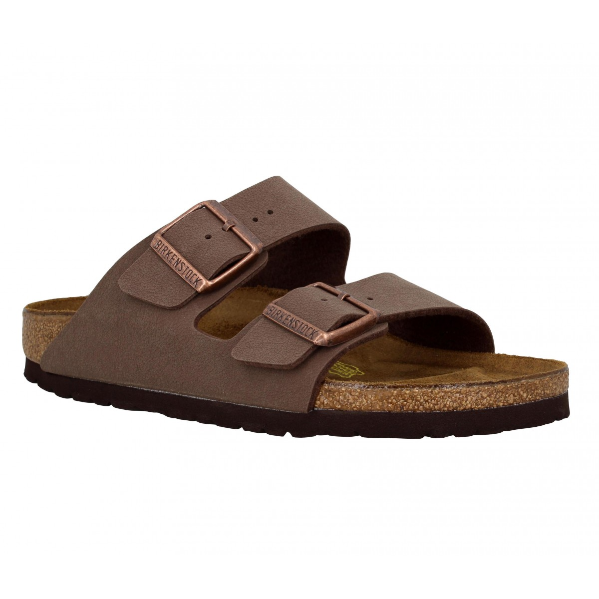birkenstock arizona birko flor homme marron fanny chaussures. Black Bedroom Furniture Sets. Home Design Ideas