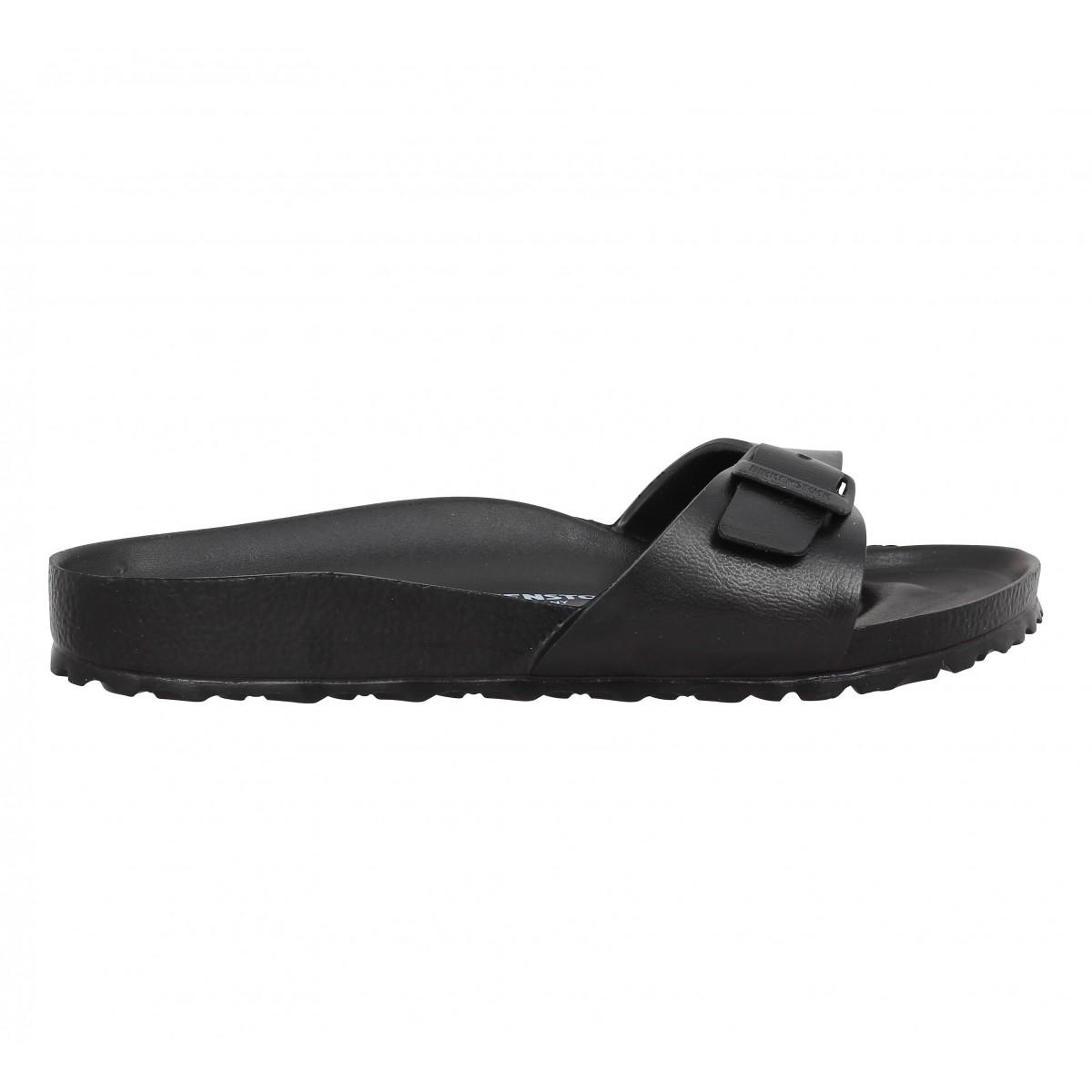 soldes birkenstock madrid eva noir femme fanny chaussures. Black Bedroom Furniture Sets. Home Design Ideas