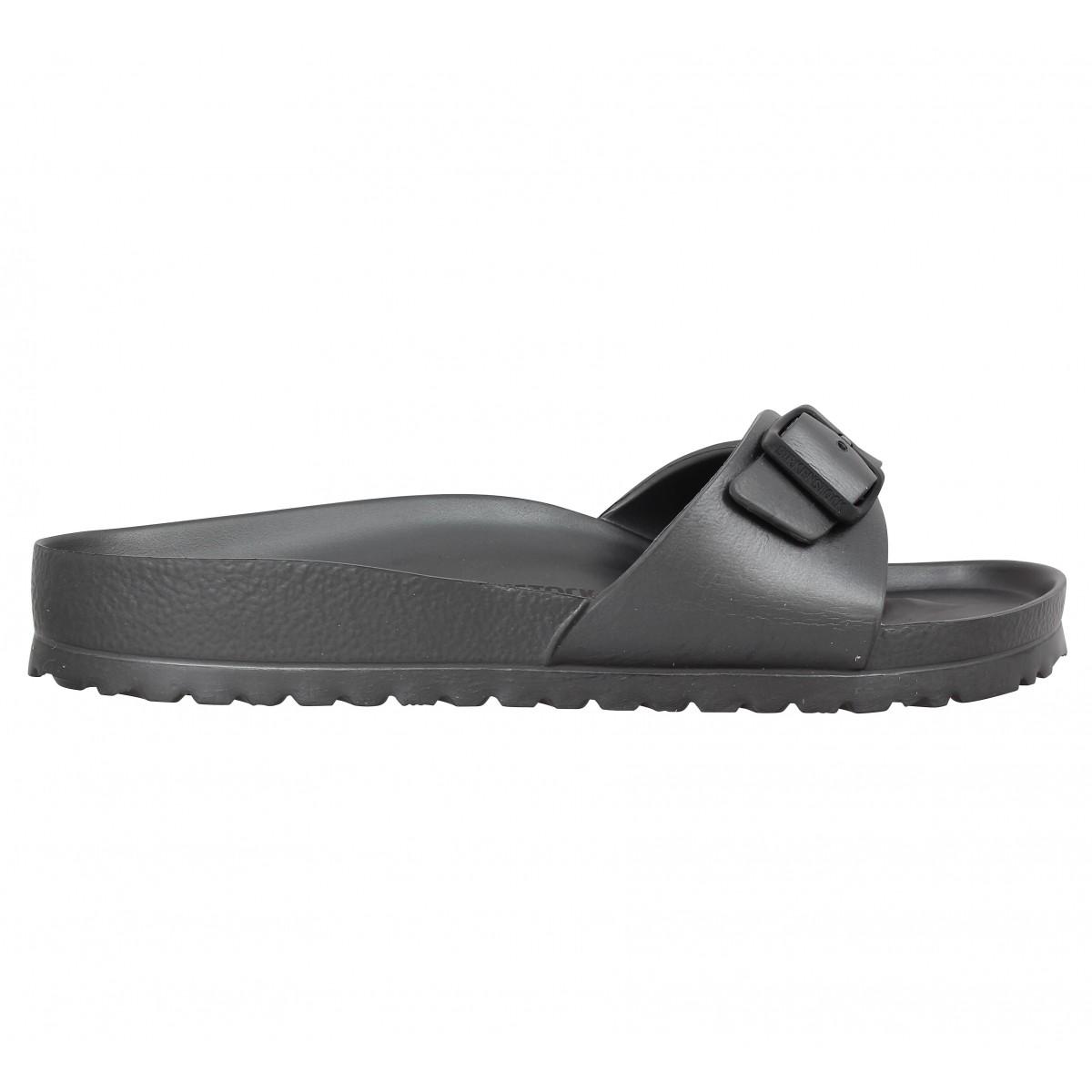 Birkenstock Madrid Eva Anthracite Gris - Chaussures Sandale Homme