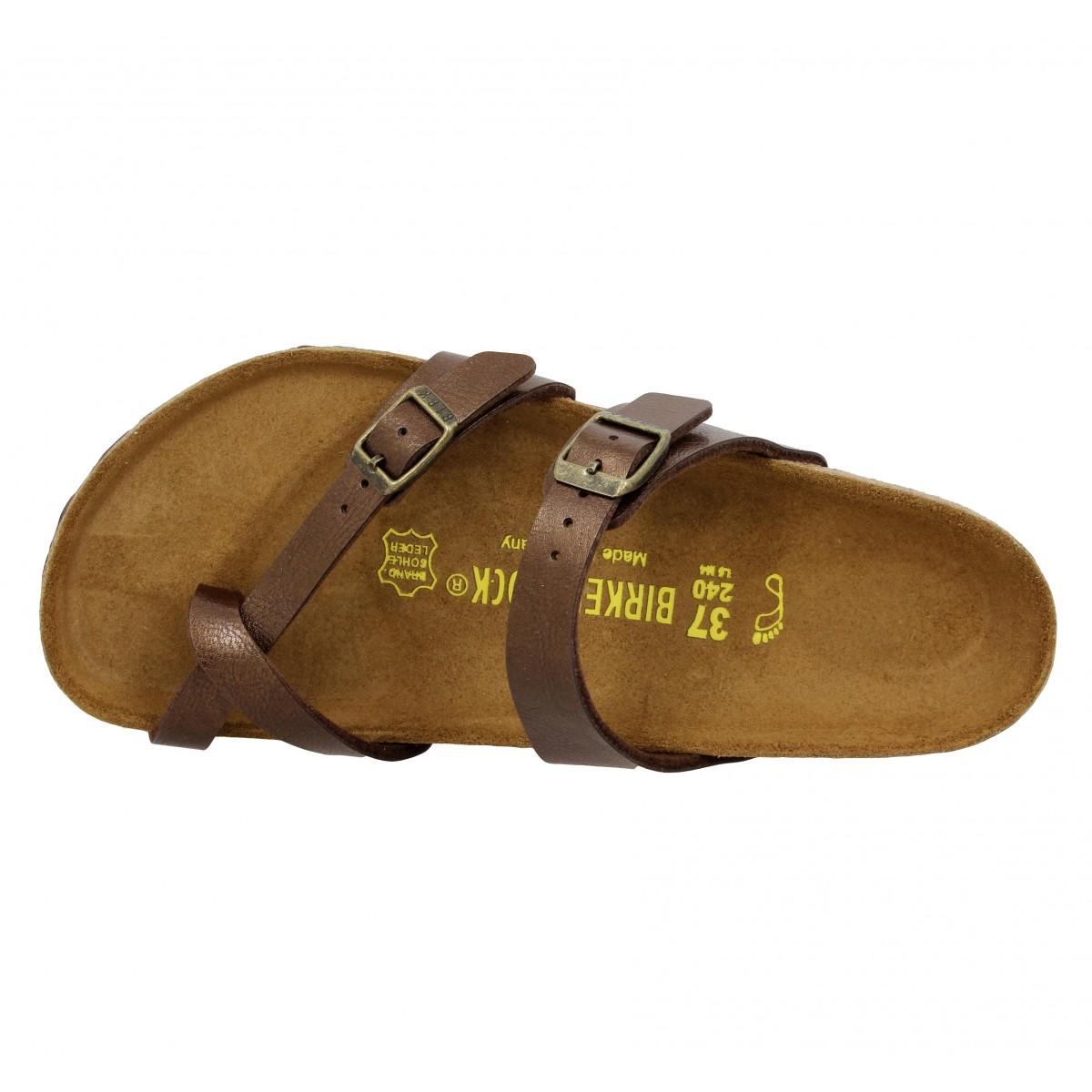 Chaussures Birkenstock Mayari marron femme oReOo8kPeZ