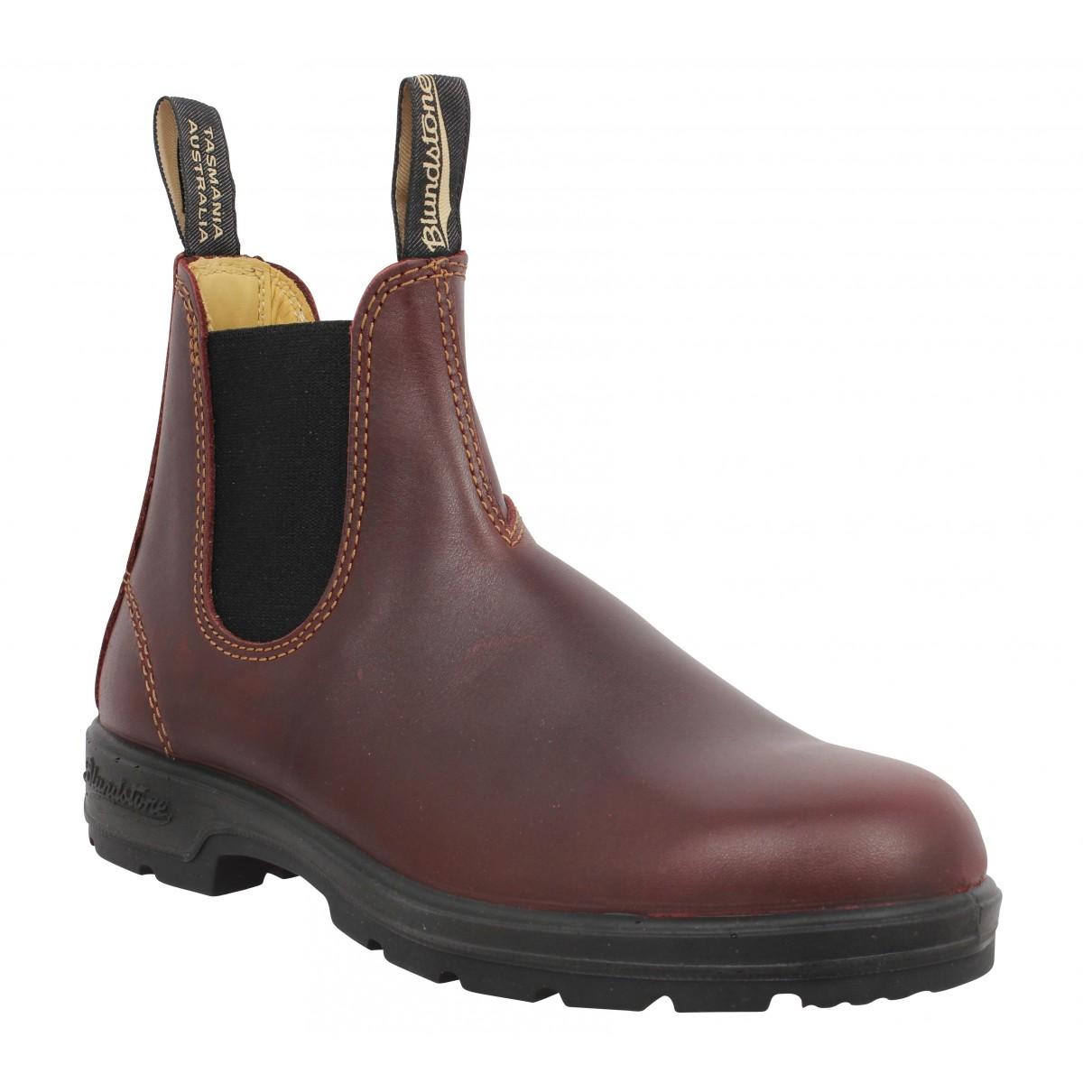 Bottines BLUNDSTONE Boots Comfort 1440 cuir Femme Marron