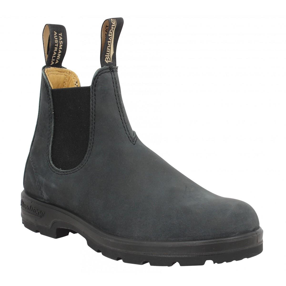 Bottines BLUNDSTONE Boots Comfort 587 cuir Femme Noir