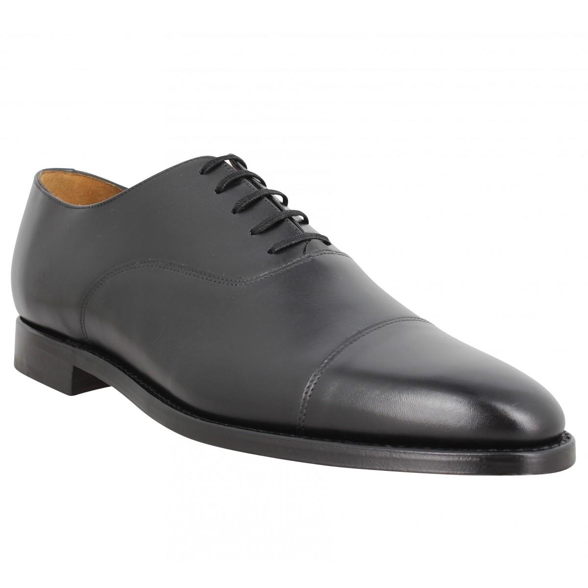 Chaussures à lacets BOBBIES Jean Coltrane cuir Homme Noir