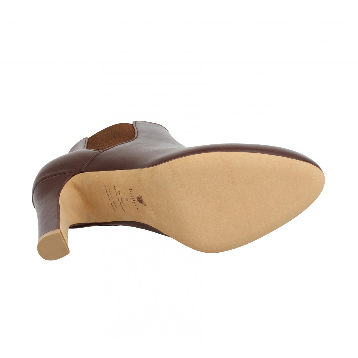 Bobbies l amante cuir femme marron femme | Fanny chaussures