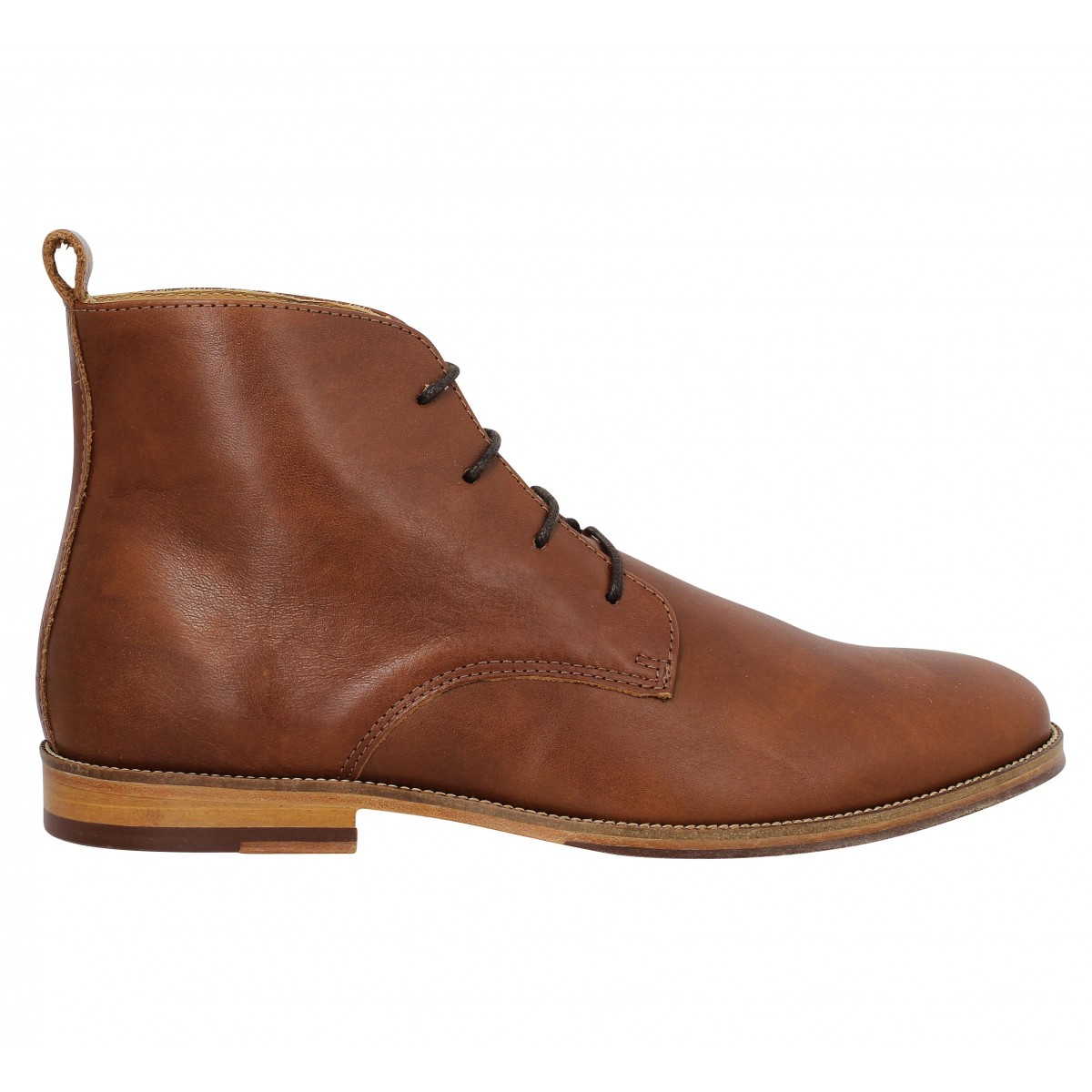 bobbies l explorateur cuir homme cognac homme fanny chaussures. Black Bedroom Furniture Sets. Home Design Ideas