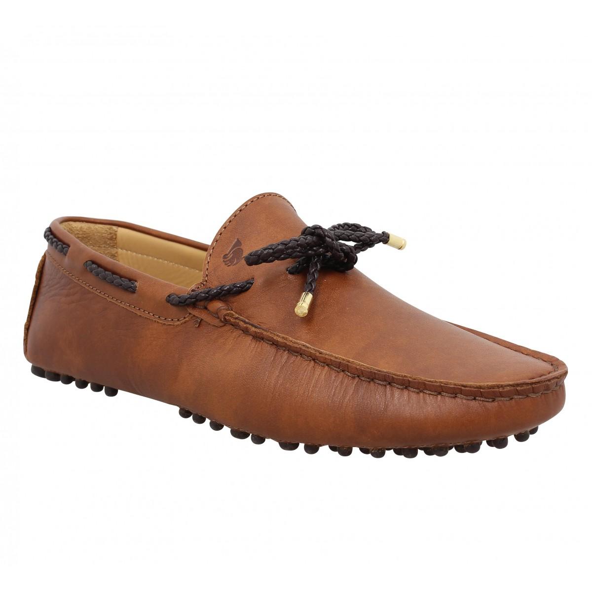 Chaussures Cuir Orfevre CognacFanny Homme Bobbies L gf76yYbv