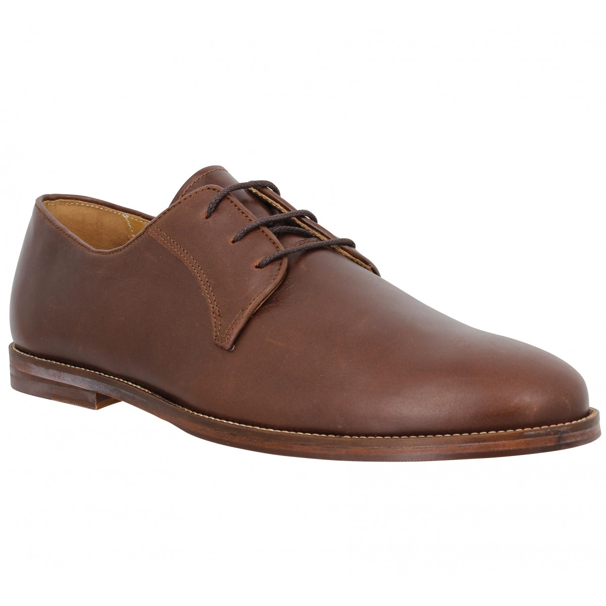 Chaussures à lacets BOBBIES Le Photographe cuir Homme Chesterfield