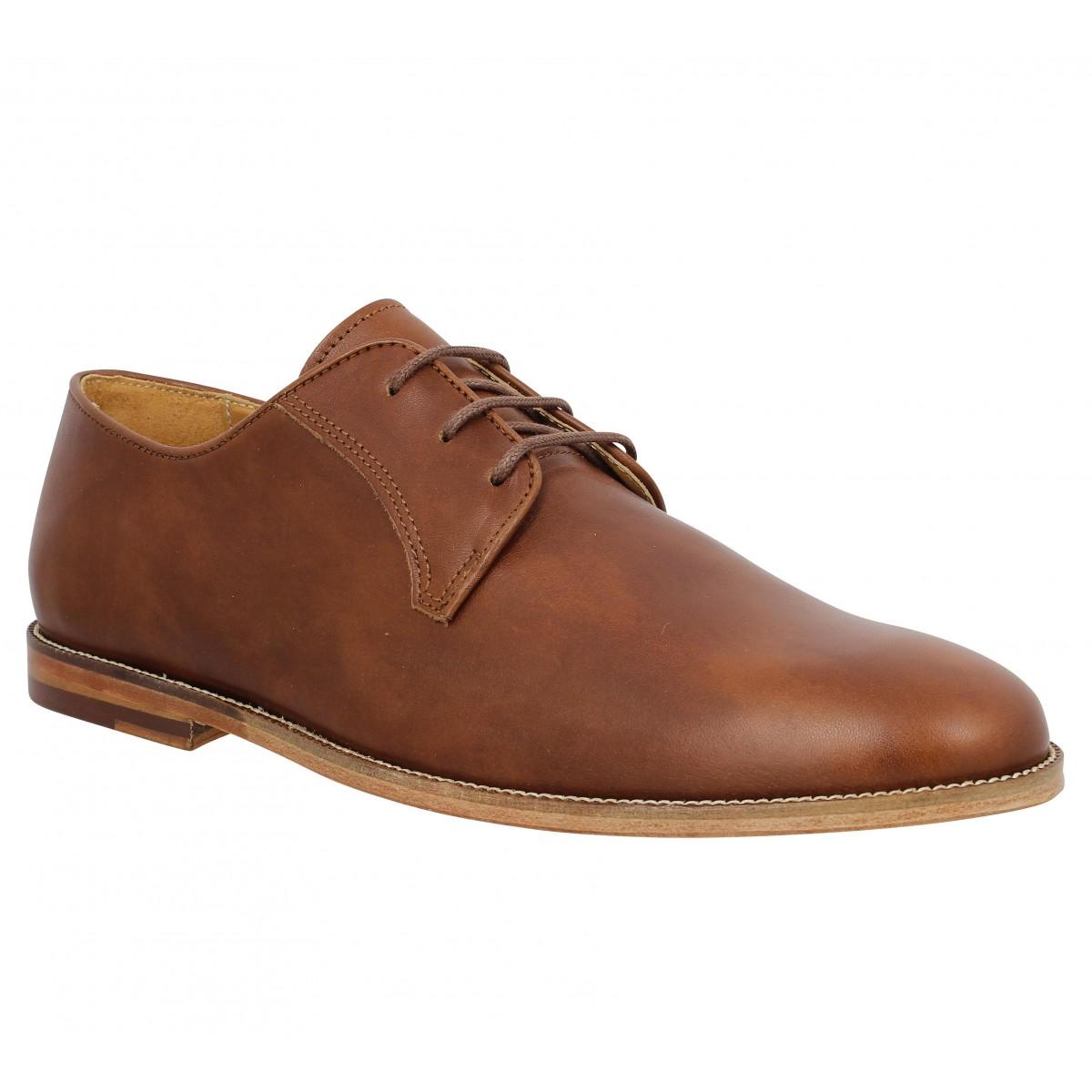 Bobbies le photographe cuir homme cognac homme   Fanny chaussures 9b105ddd8ac