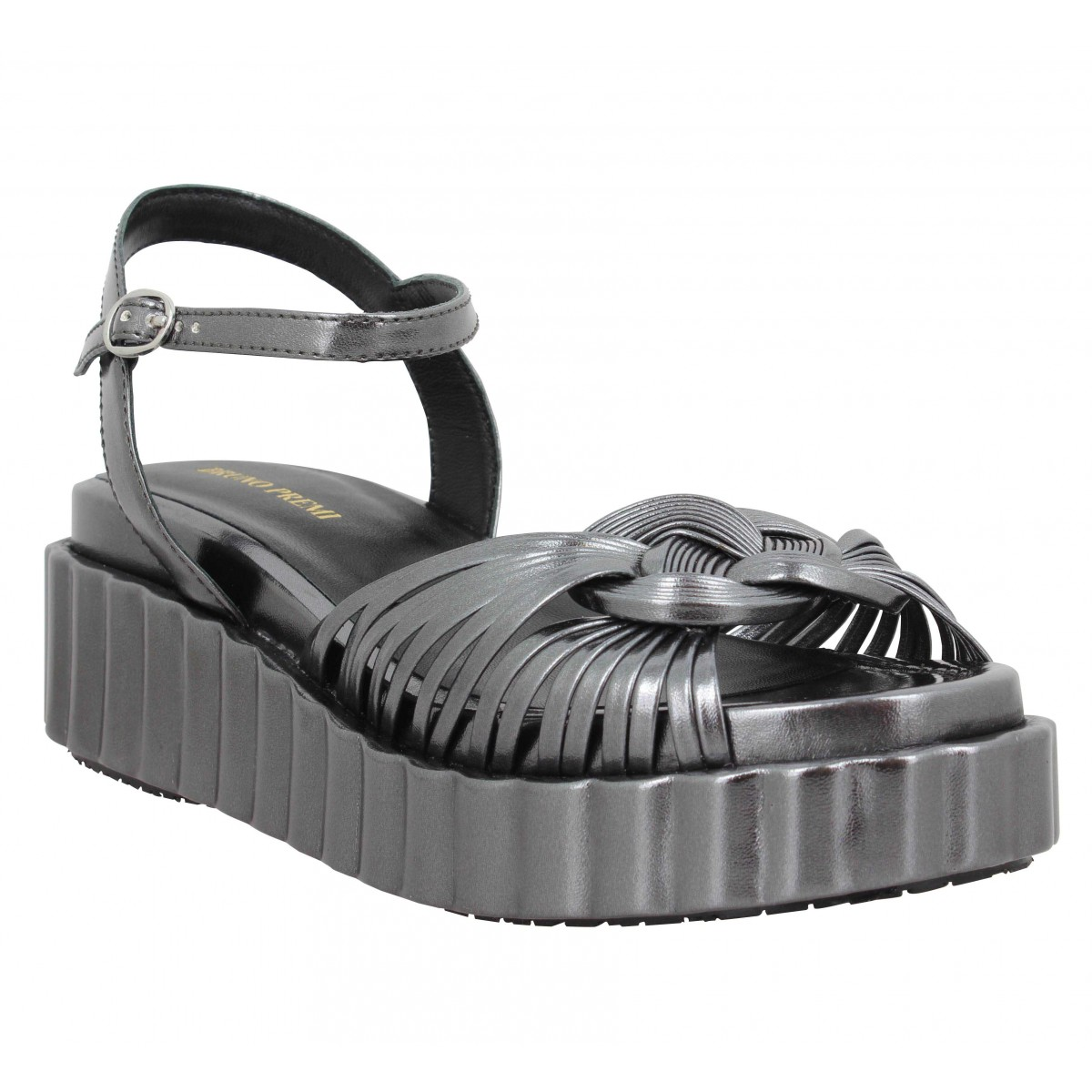 Sandales talons BRUNO PREMI 5304 metal Femme Anthracite