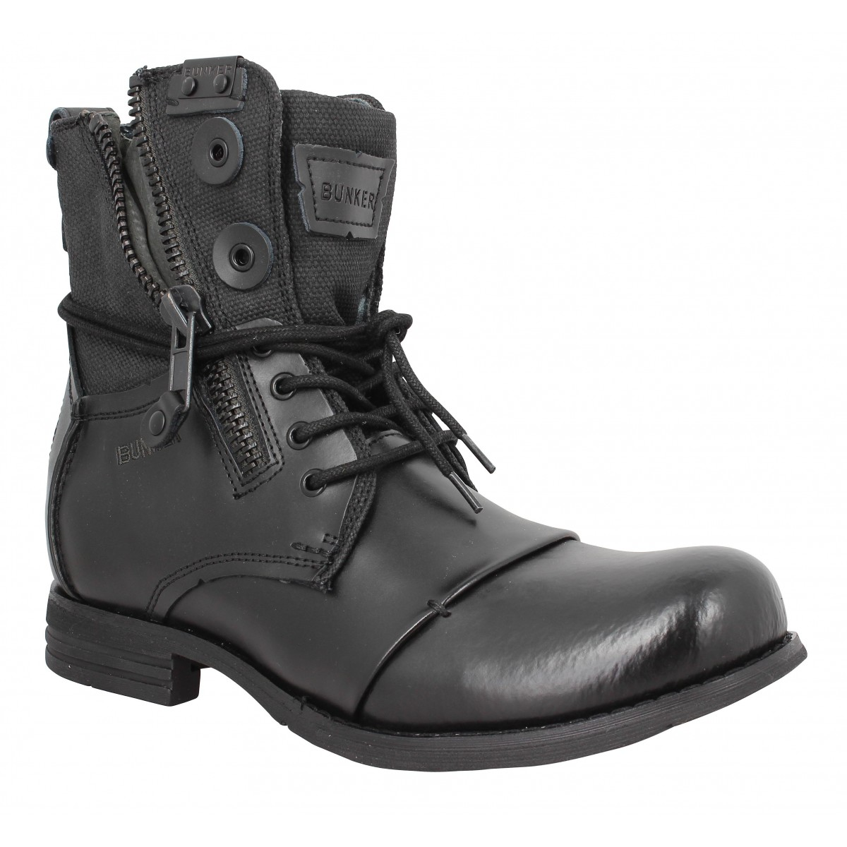 Bottines BUNKER Por Sp1 Noir