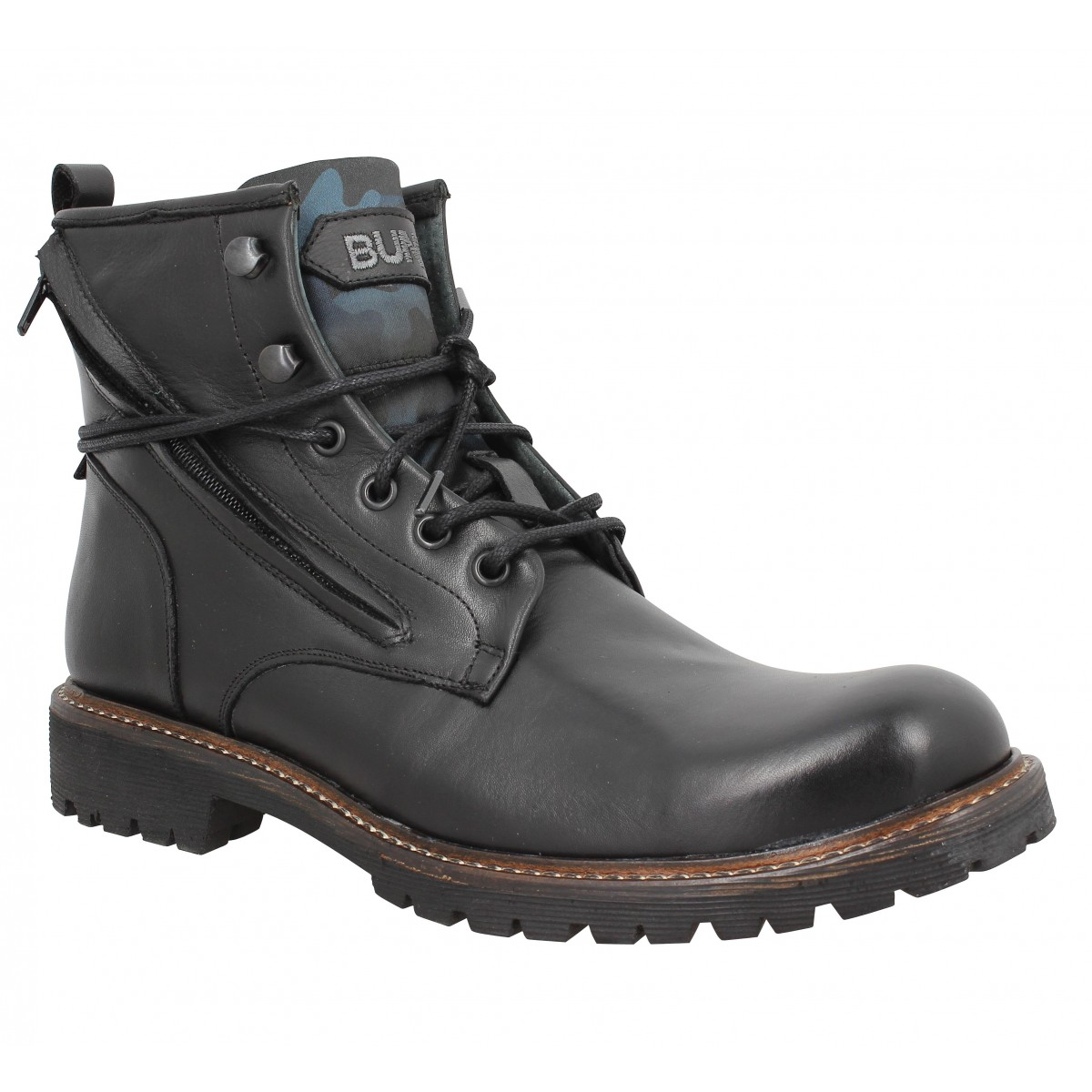 Bottines BUNKER Work Rok Noir