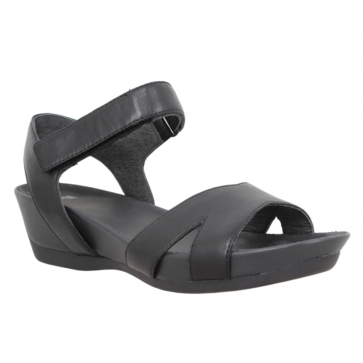 Sandales talons CAMPER Micro 20116 cuir Femme Noir