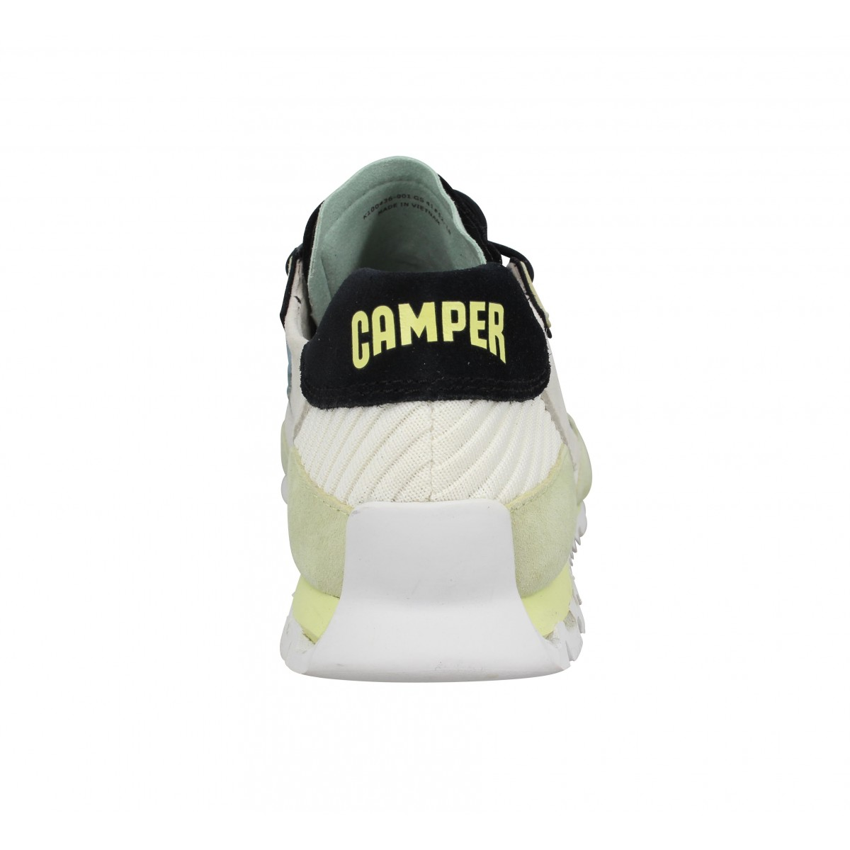Camper nothing toile homme blanc homme | Fanny chaussures