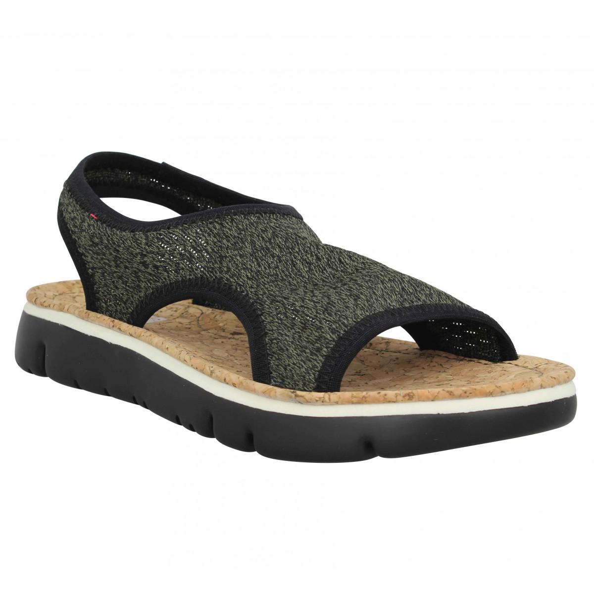 Camper Femme Oruga Sandal Toile -37-kiwi