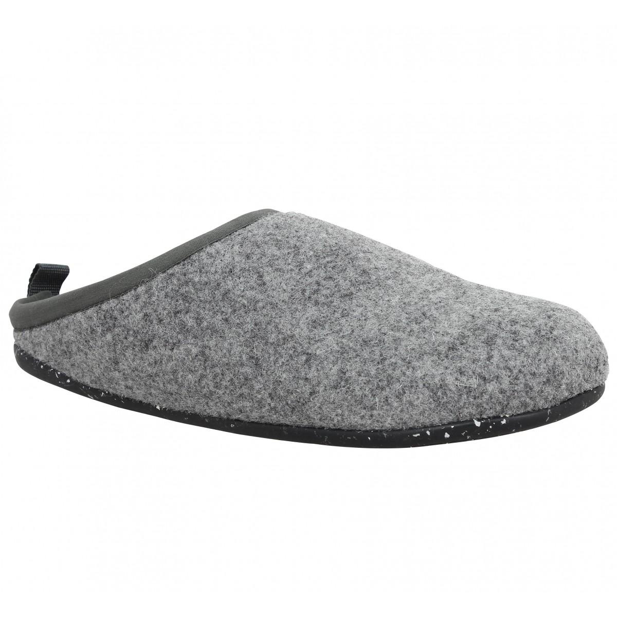 Camper Marque Wabi Tweed Femme-40-gris