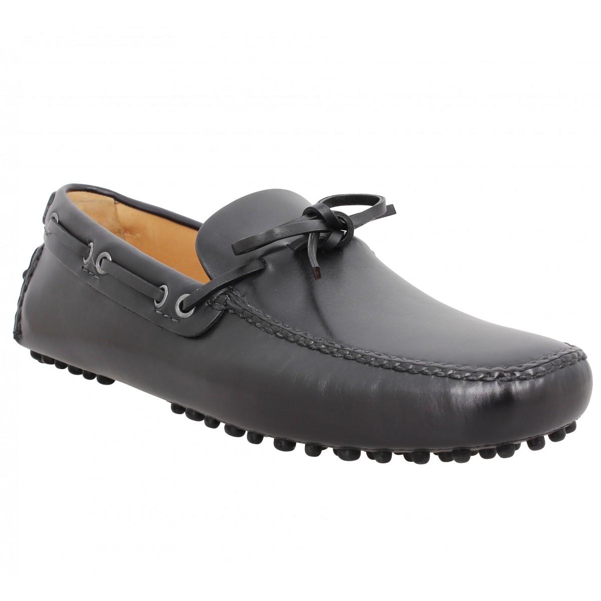 Car Shoe Homme Driving Shoes Cuir...