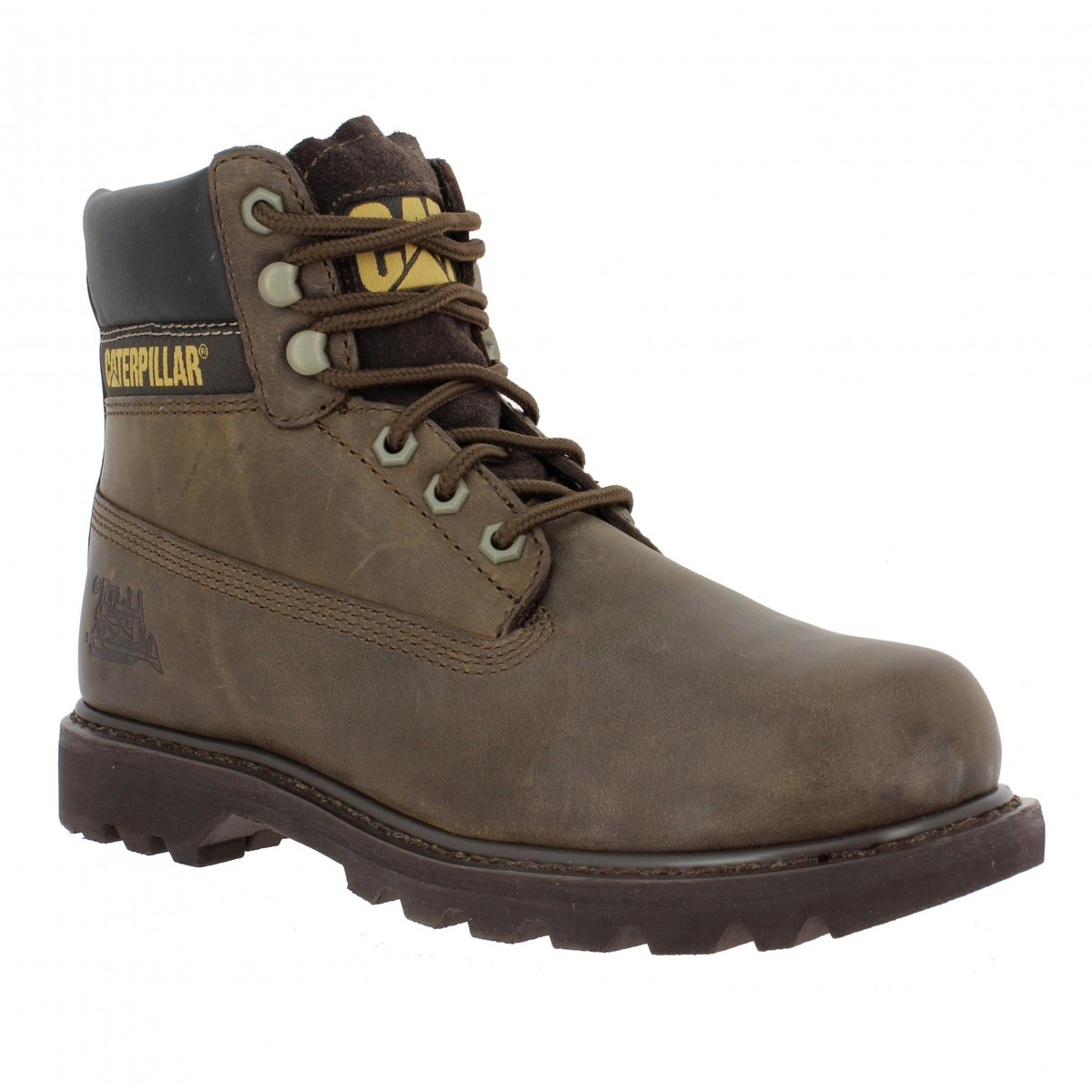 Bottines CATERPILLAR Colorado cuir Homme Chocolat