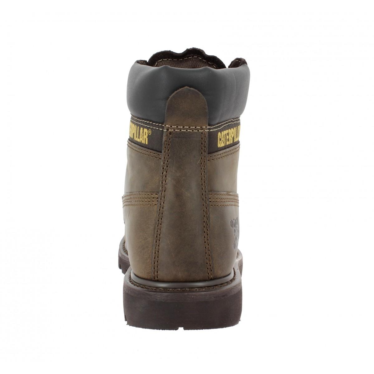 da2064b5c83328 Caterpillar colorado cuir homme chocolat | Fanny chaussures