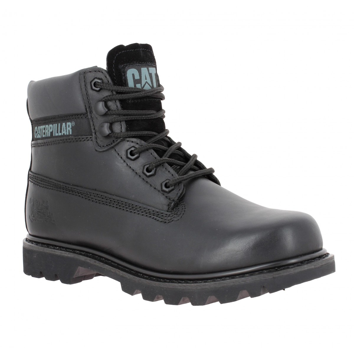 Bottines CATERPILLAR Colorado cuir Homme Noir