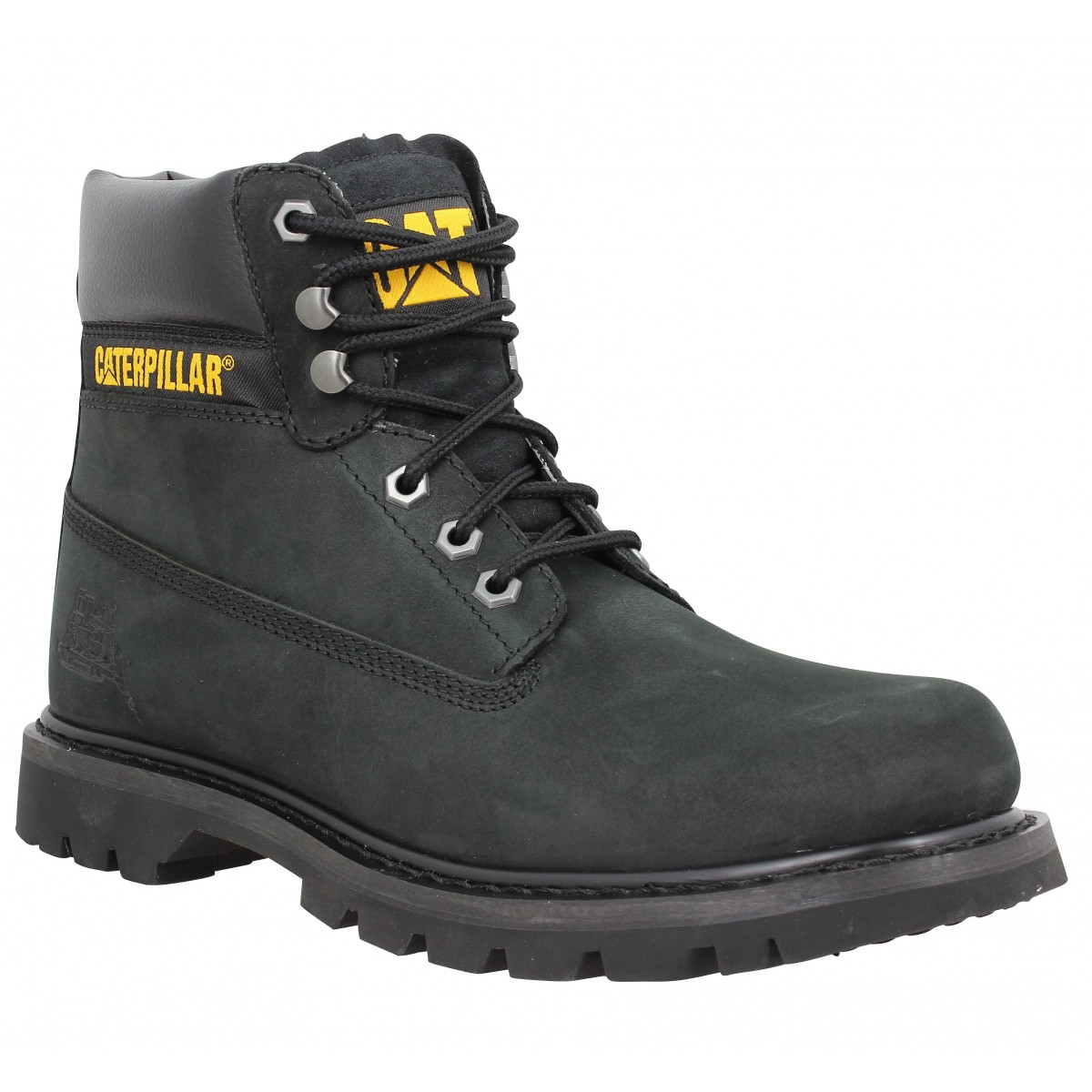 Bottines CATERPILLAR Colorado nubuck Homme Noir