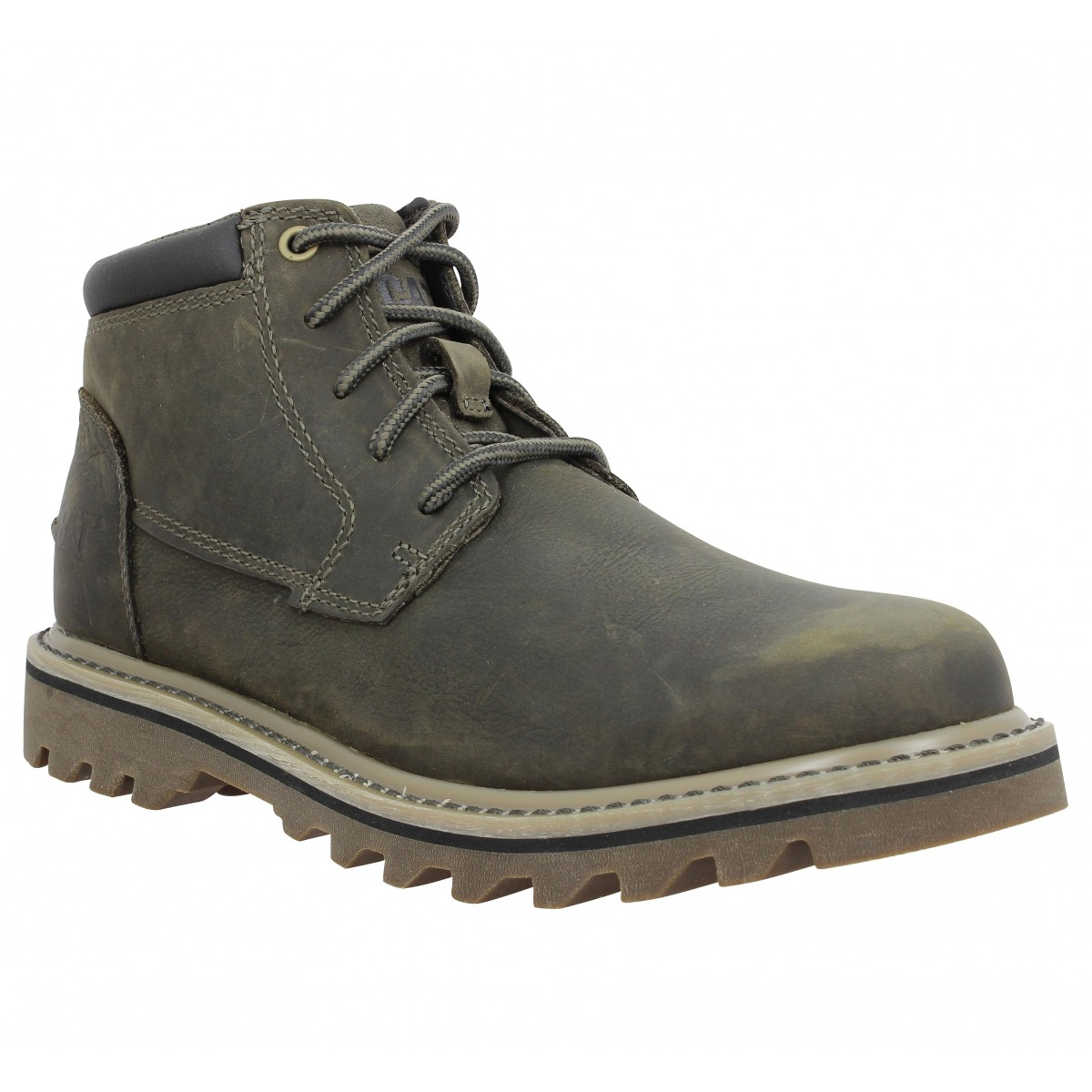 Caterpillar Homme Doubleday Cuir...