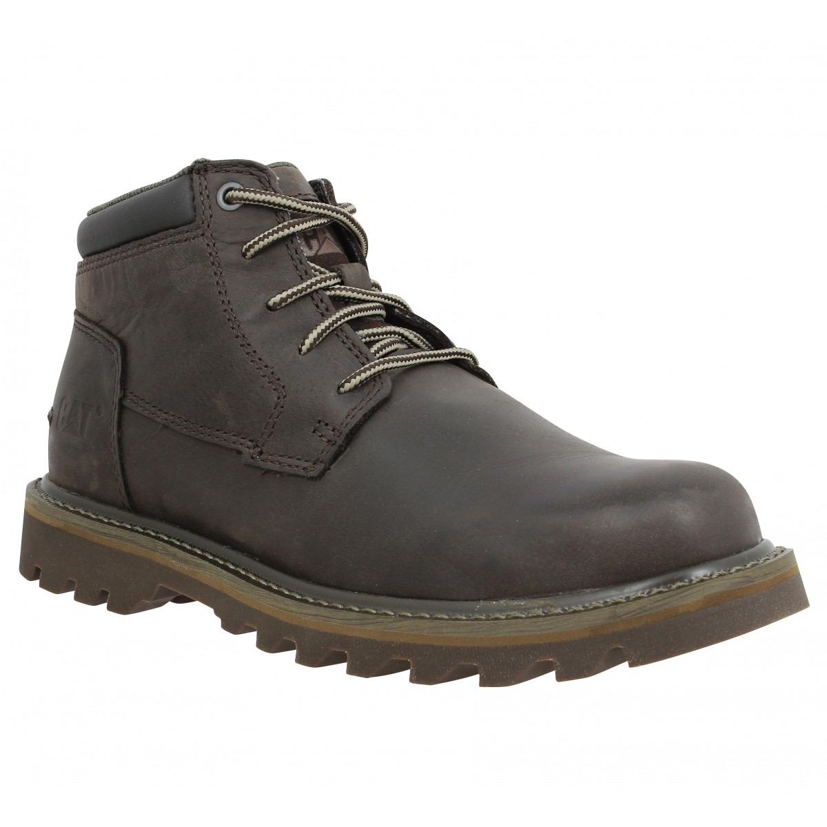 Bottines CATERPILLAR Doubleday cuir Homme Marron