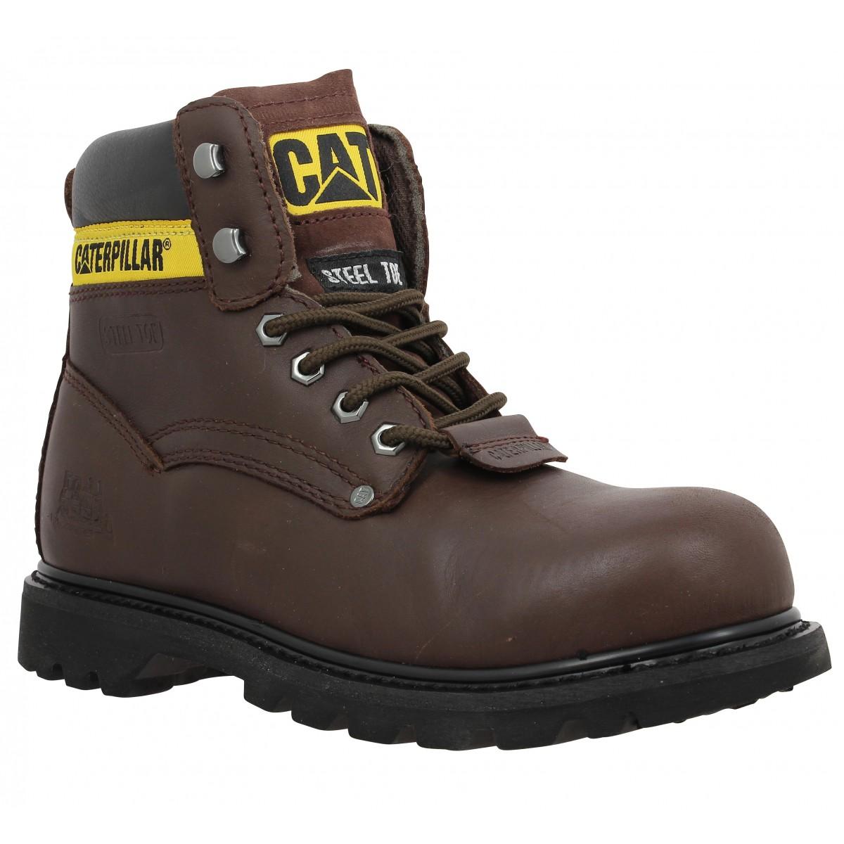 119a77a5073f31 Caterpillar sheffield marron homme | Fanny chaussures