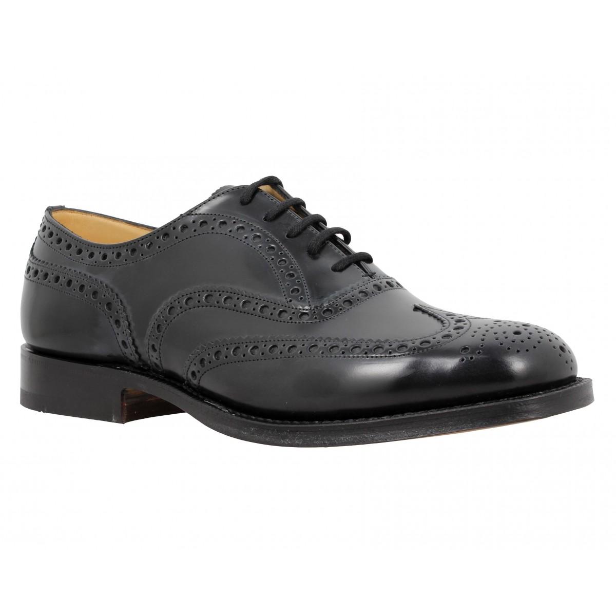 Chaussures à lacets CHURCH'S Burwood cuir Homme Noir