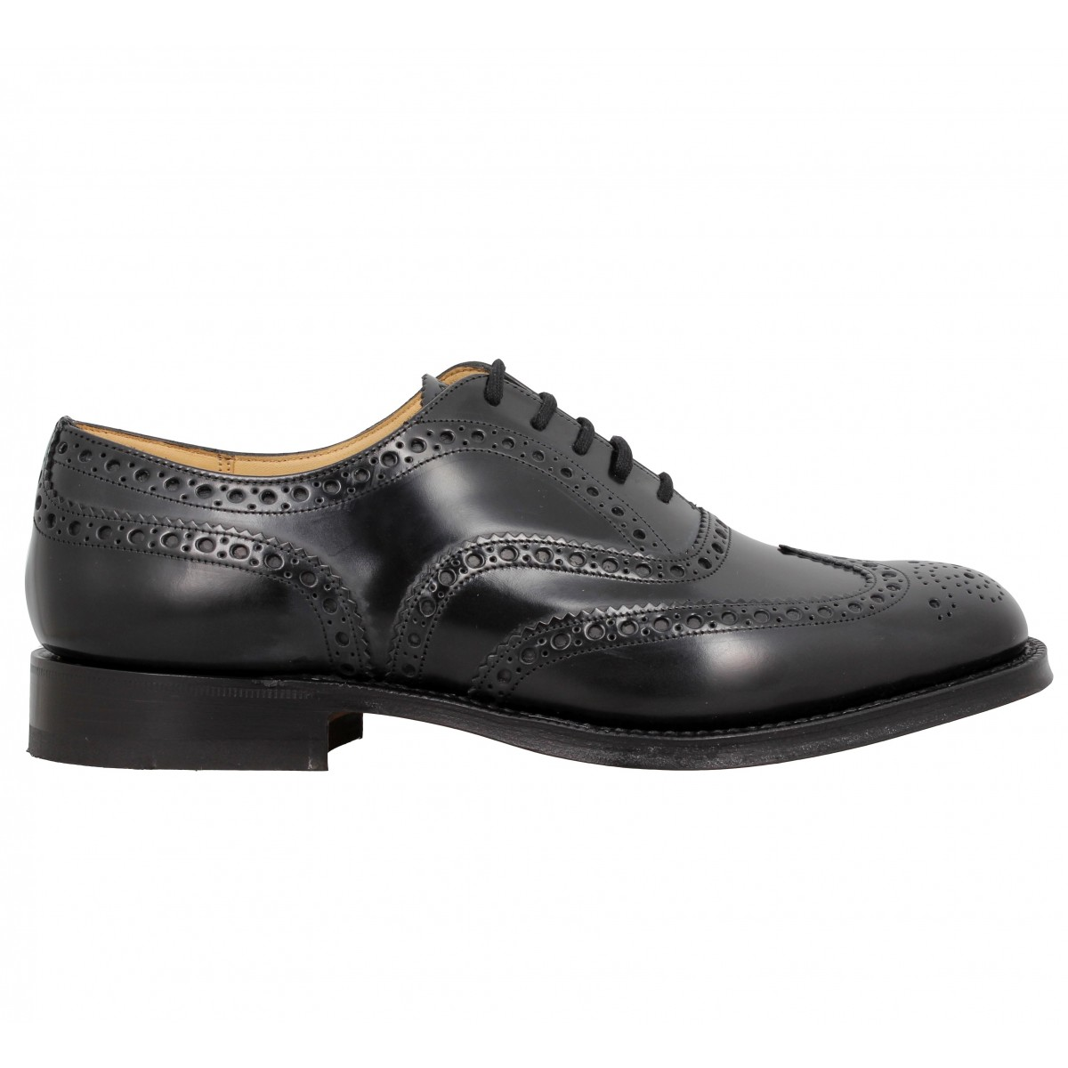 Chaussures à lacets CHURCHS Burwood cuir Homme NoirChurchs 9GdVK