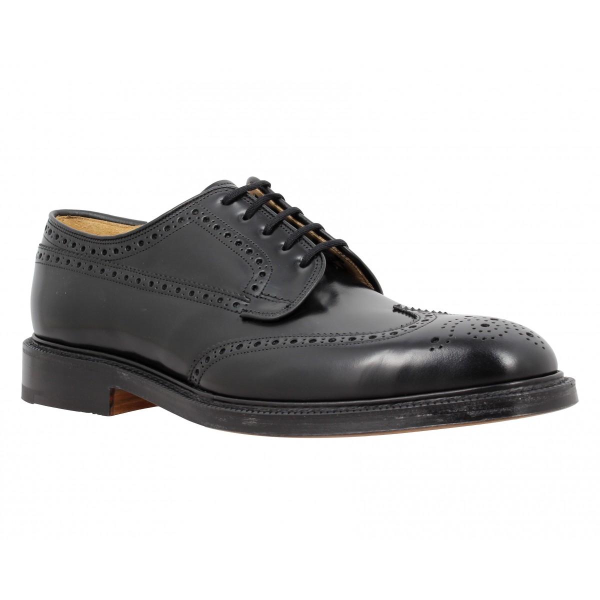 Chaussures à lacets CHURCH'S Grafton cuir Homme Noir
