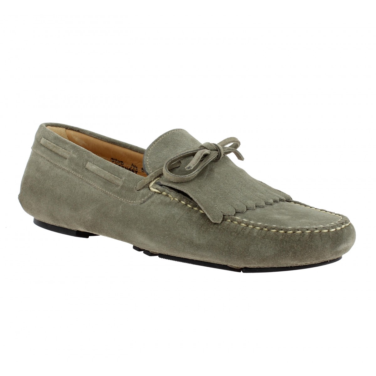 Mocassins CHURCH'S Barnaby velours Homme Stone