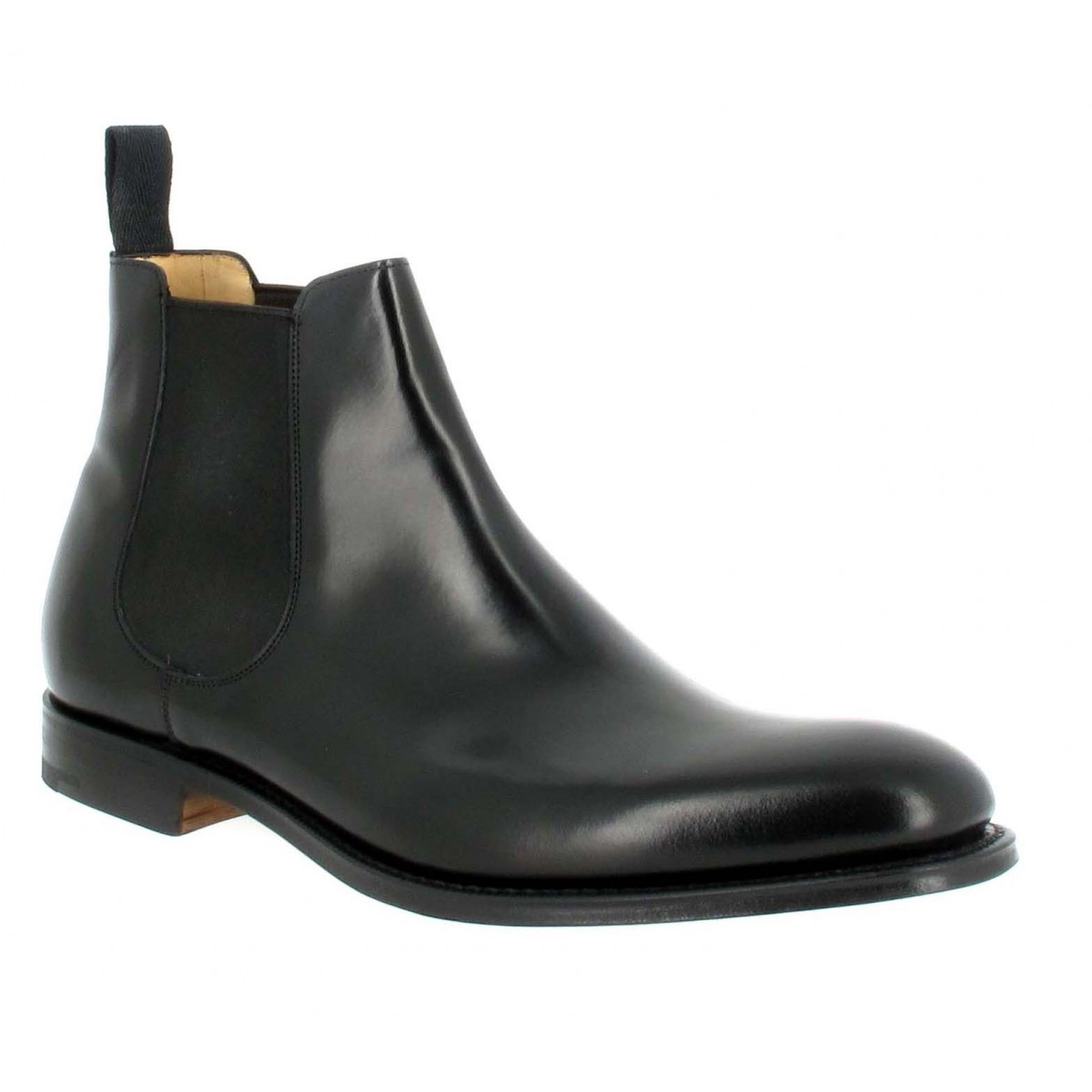 Bottines CHURCH'S Beijing cuir Homme Noir
