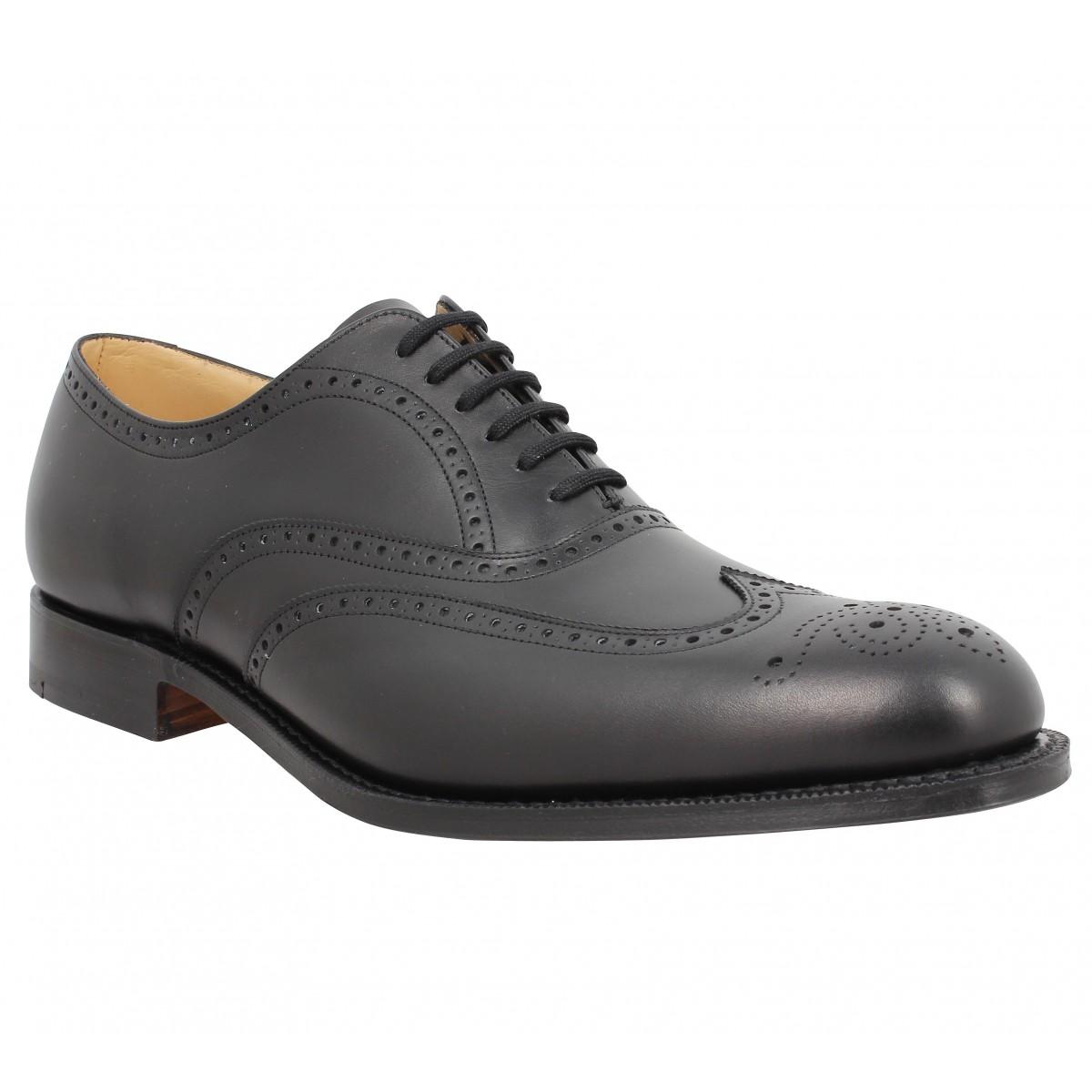 Chaussures à lacets CHURCH'S Berlin cuir Noir