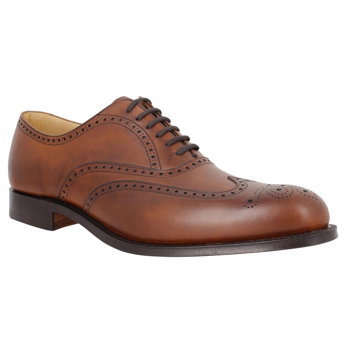 Chaussures à lacets CHURCH'S Berlin cuir Walnut