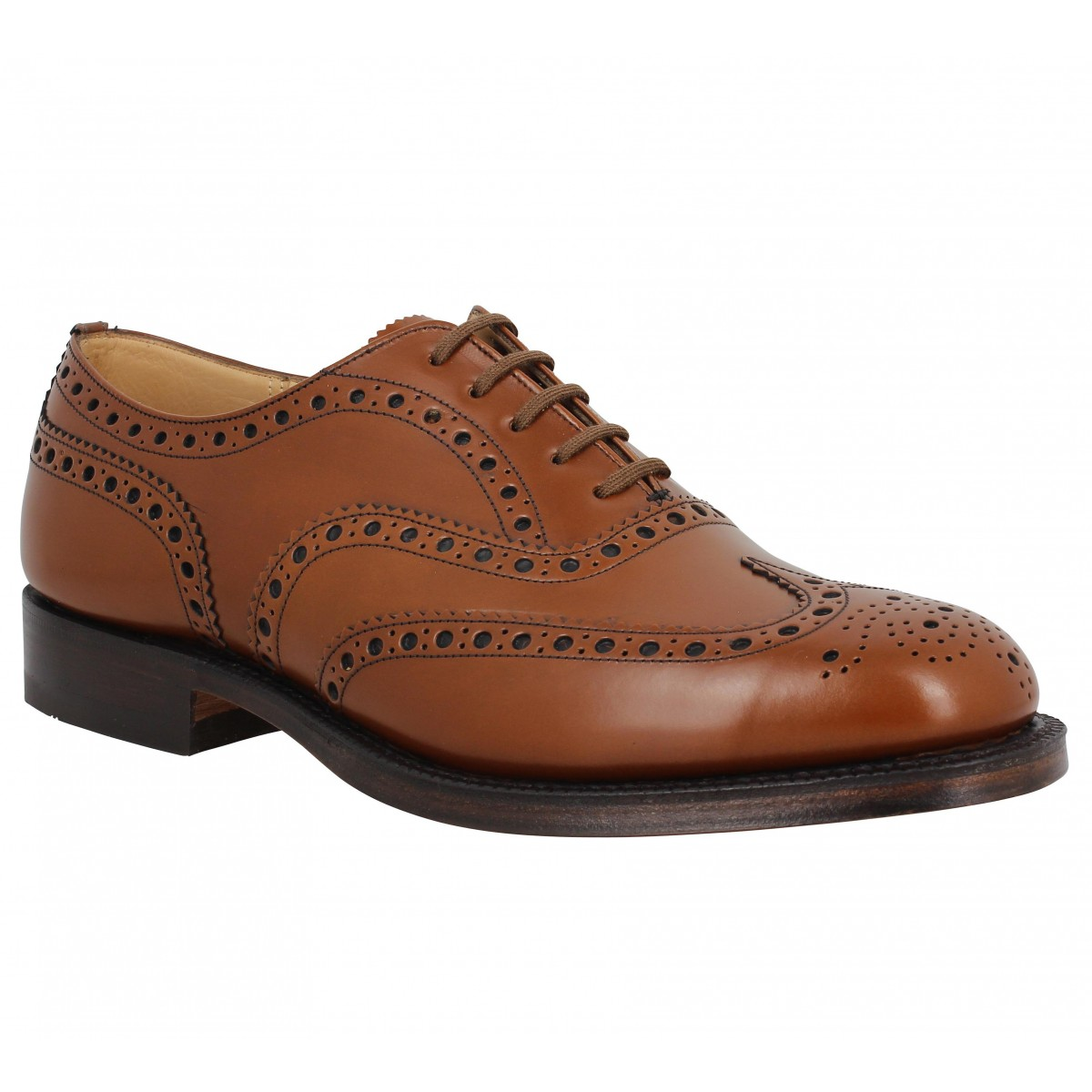 Chaussures à lacets CHURCH'S Burwood cuir Homme Marron
