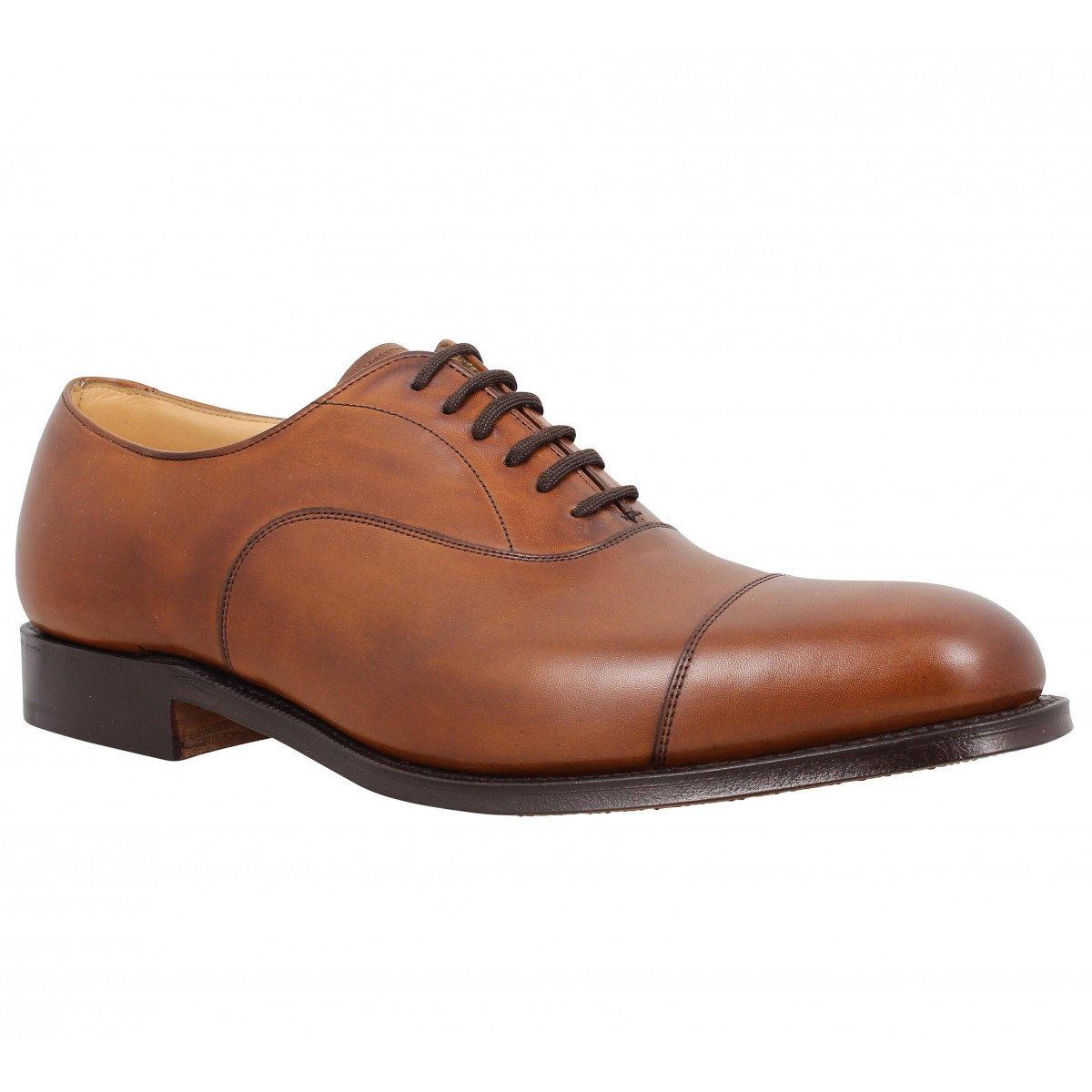 Chaussures à lacets CHURCH'S Dubai cuir Walnut