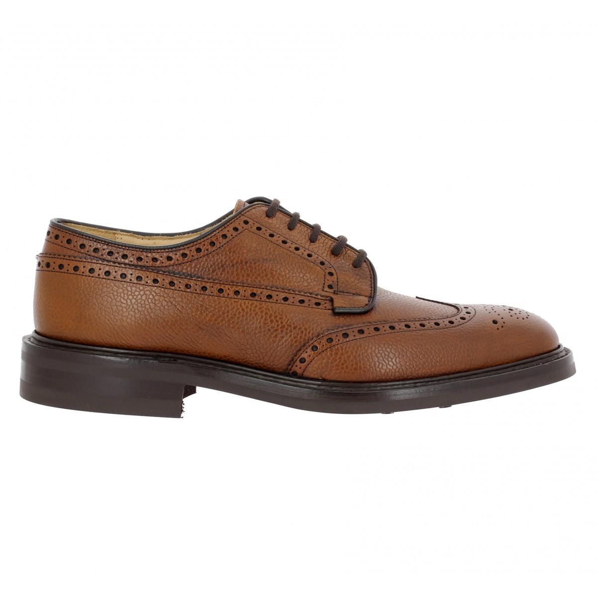 church s grafton cuir graine homme cognac fanny chaussures. Black Bedroom Furniture Sets. Home Design Ideas