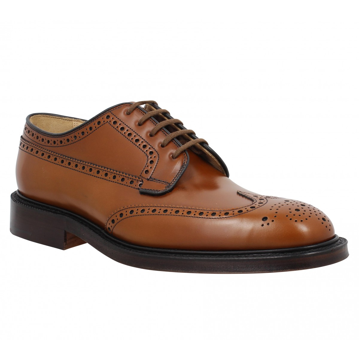 Chaussures à lacets CHURCH'S Grafton cuir Homme Marron
