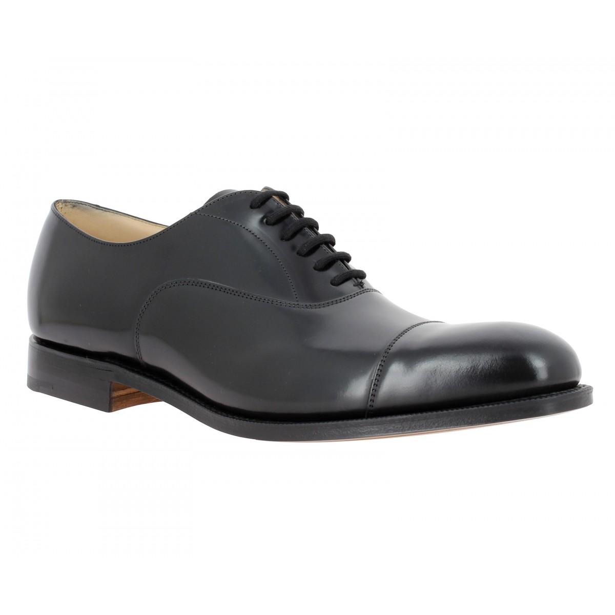 Chaussures à lacets CHURCH'S Hong Kong cuir Homme Noir