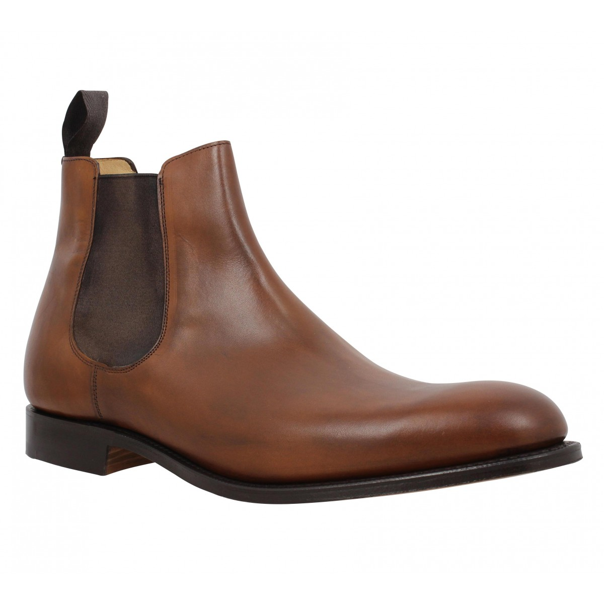 Bottines CHURCH'S Houston cuir Homme Cognac