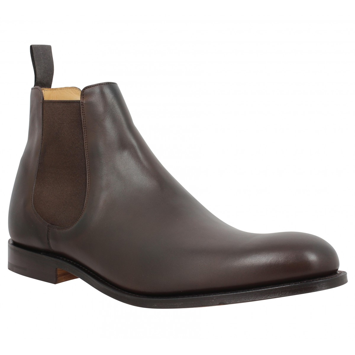 Bottines CHURCH'S Houston cuir Homme Ebony