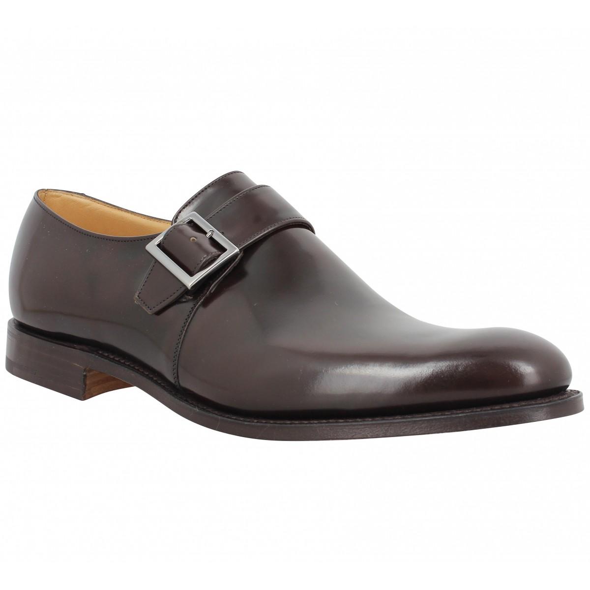 Chaussures à lacets CHURCH'S Lisbon cuir Homme Marron