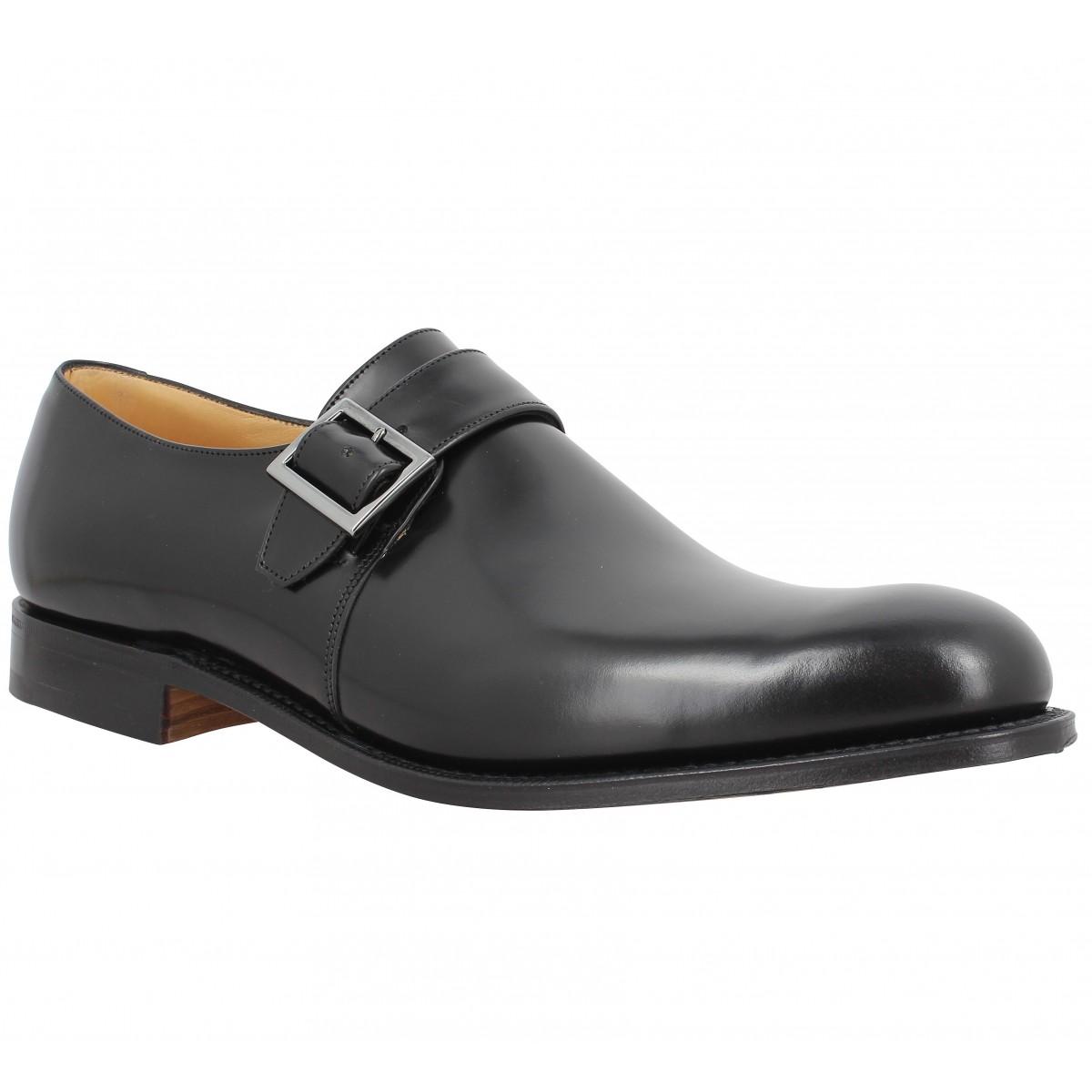 Chaussures à lacets CHURCH'S Lisbon cuir Homme Noir