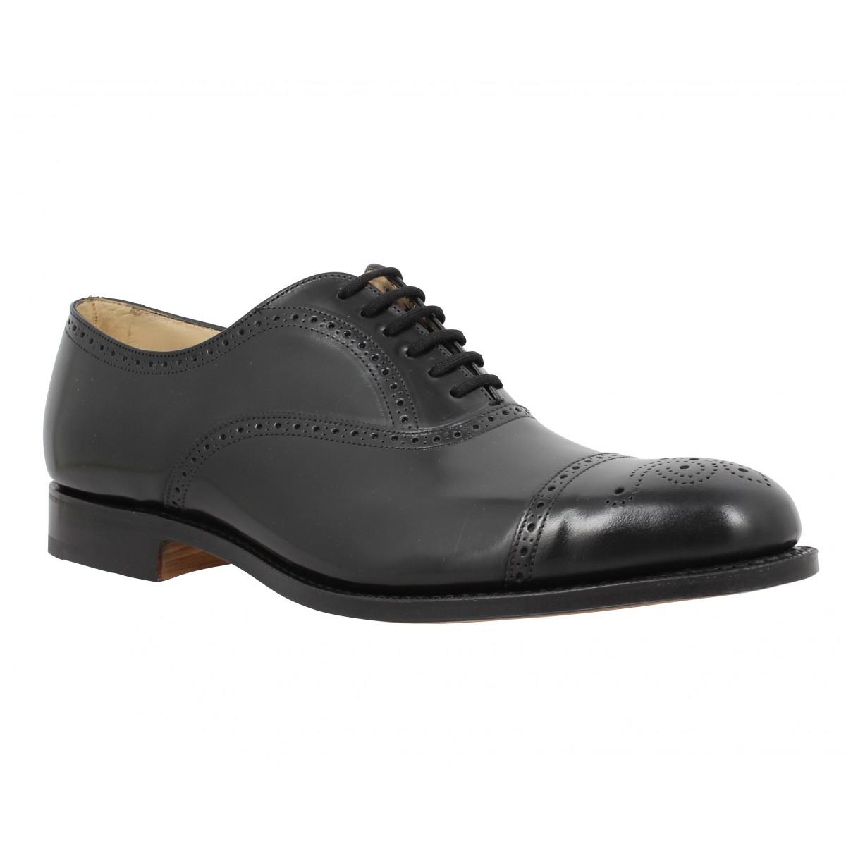 Chaussures à lacets CHURCH'S London cuir Homme Noir
