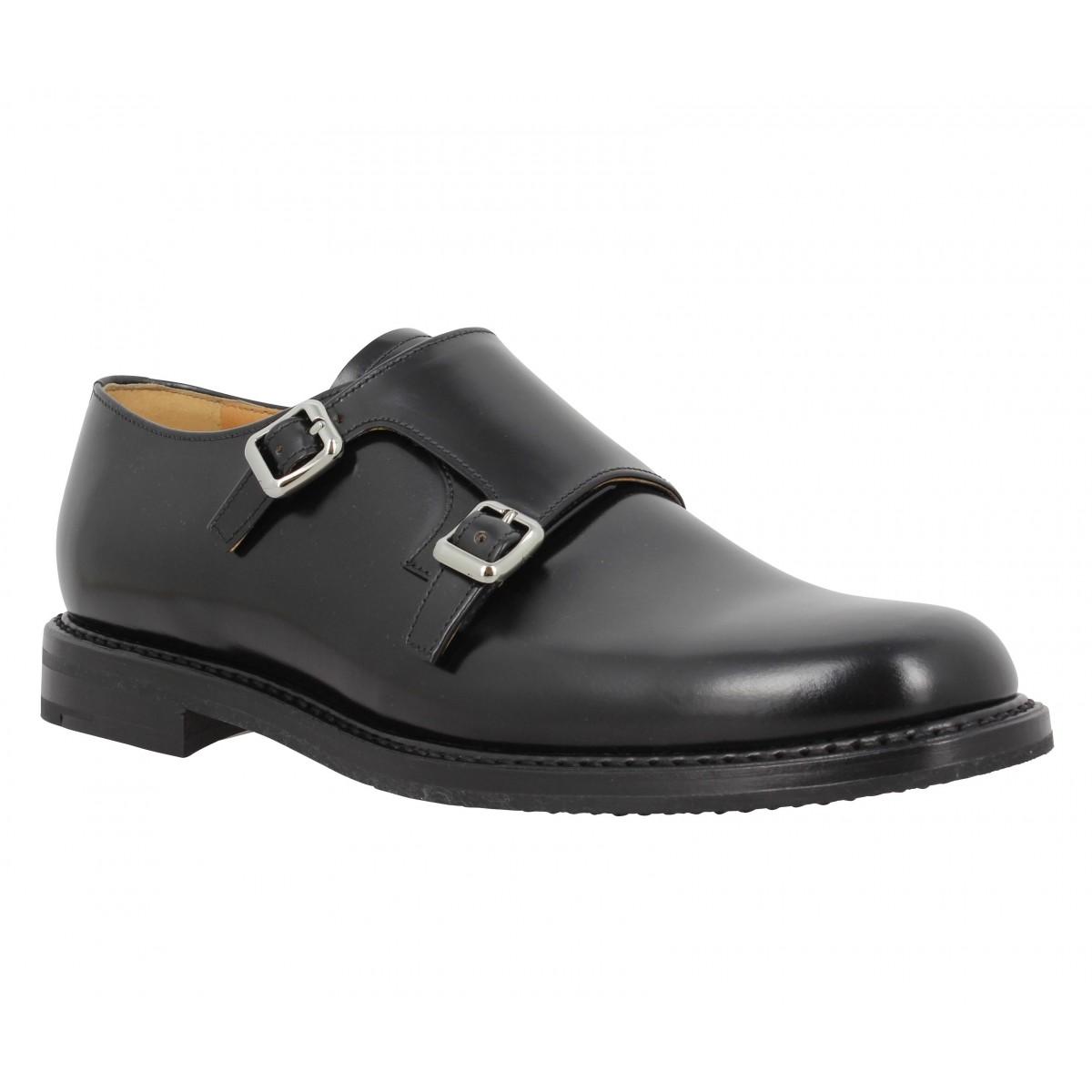 Chaussures à lacets CHURCH'S Lora cuir Femme Noir