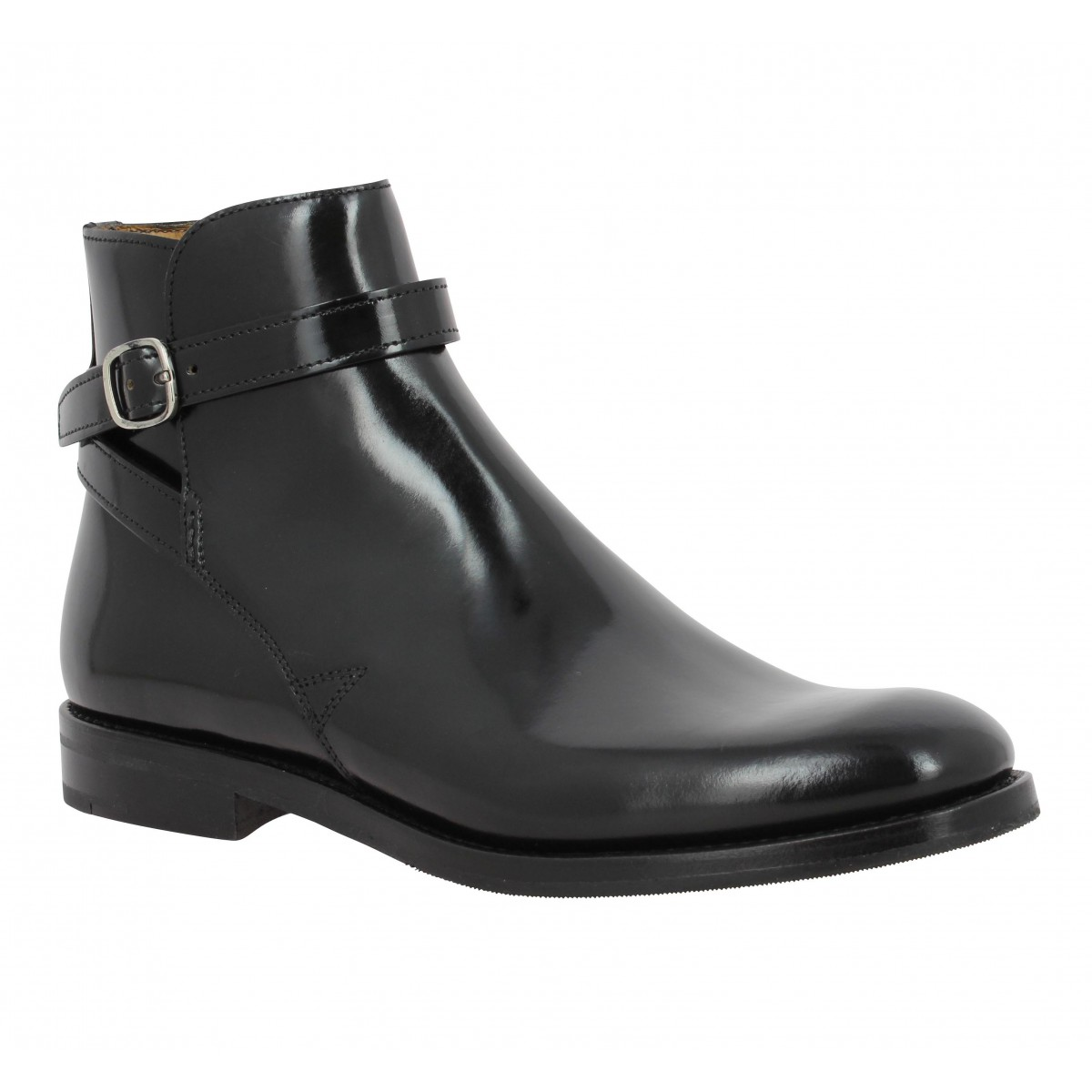 Bottines CHURCH'S Merthyr cuir Femme Noir