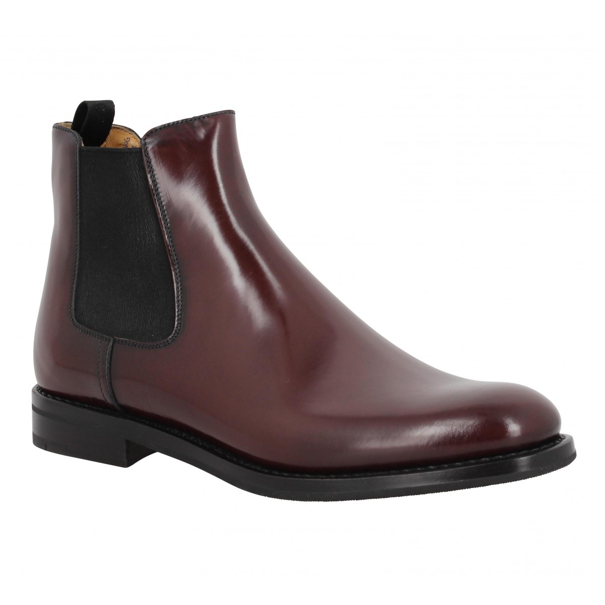 Bottines CHURCH'S Monmouth cuir Femme Burgundy